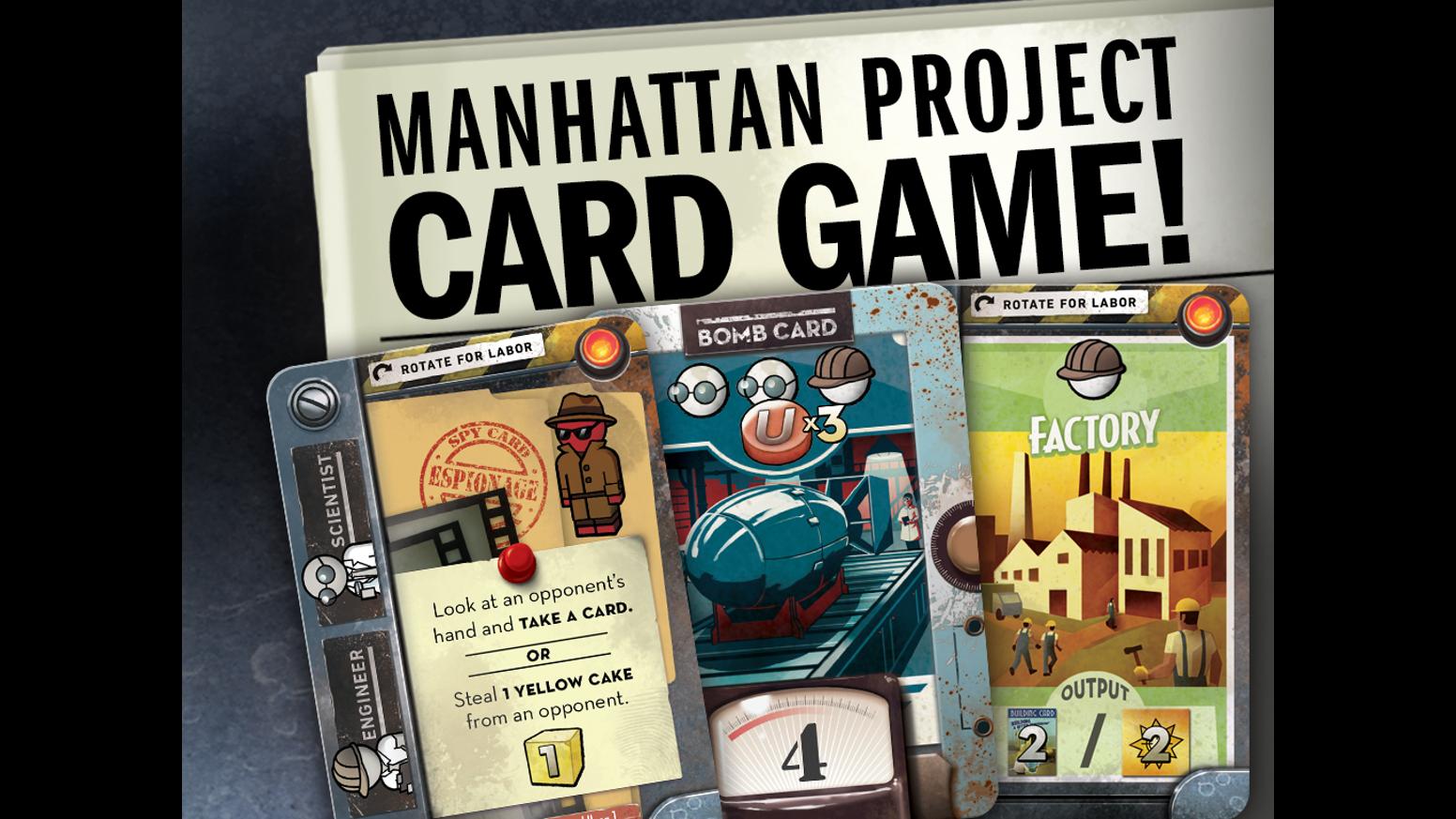 Manhattan Project Card Game - Kickstarter Edition