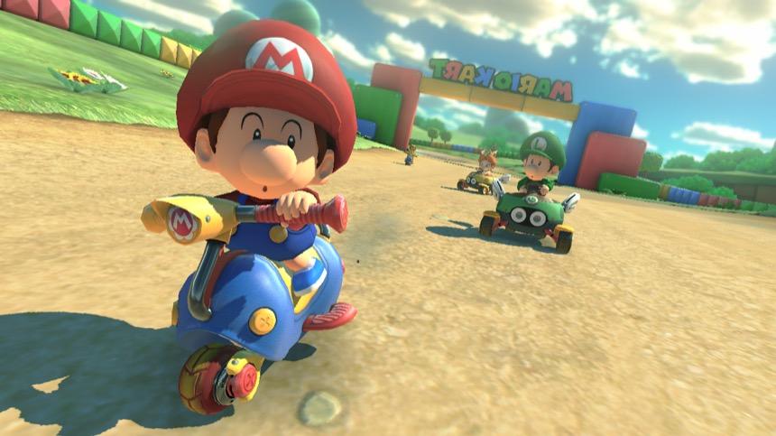 Mario Kart 8 Deluxe Baby Mario