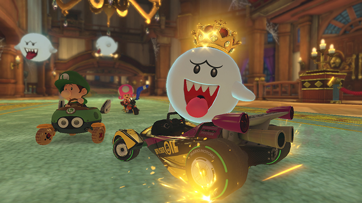 Mario Kart 8 Deluxe King Boo