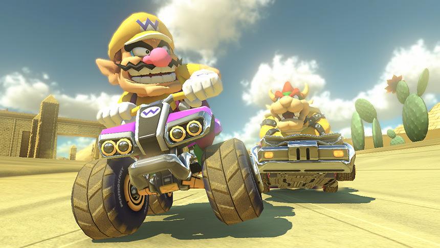Mario Kart 8 Deluxe Wario