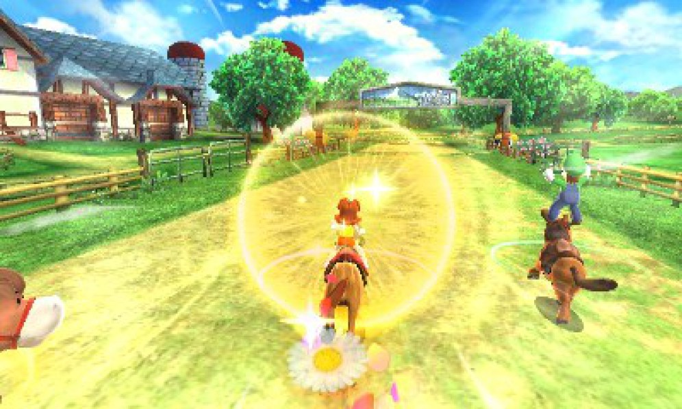 Mario Sports Superstars horse racing