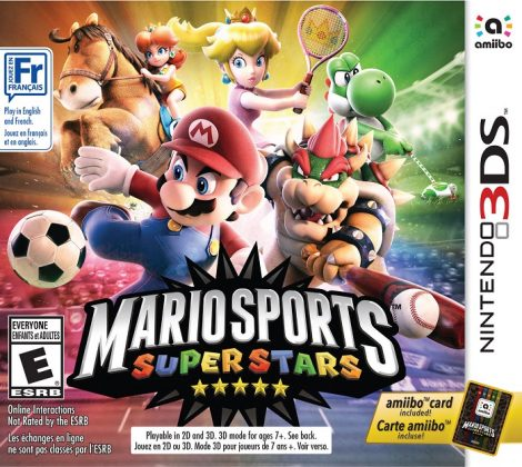 Mario Sports Superstars cover art