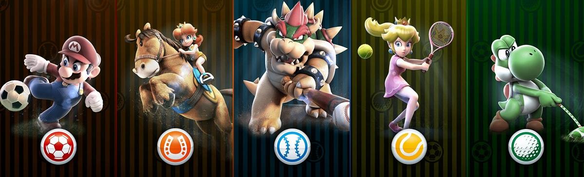 Mario Sports Superstars five sports