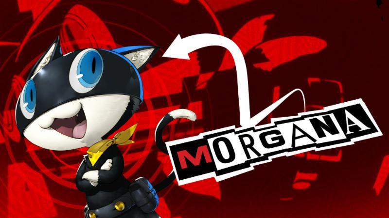 Persona 5 Morgana