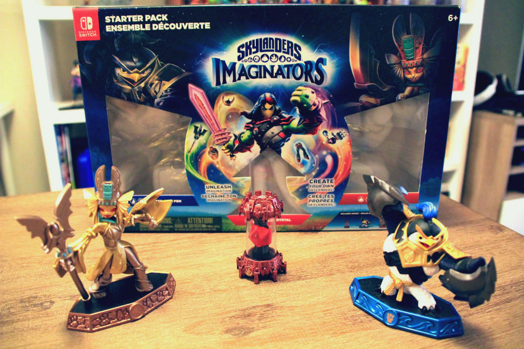 Skylanders Imaginators box figures