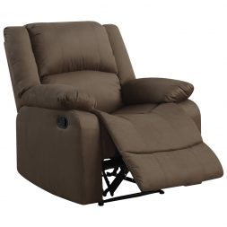 Warren Micro Suede Recliner Chair