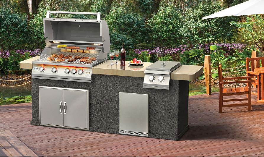 How to build your outdoor kitchen best buy blog for Build your outdoor kitchen