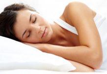 sleeping new mattress