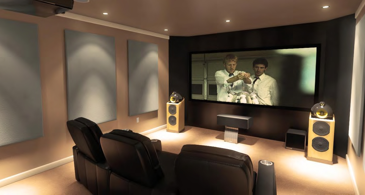 Nice Home Theatre Seating