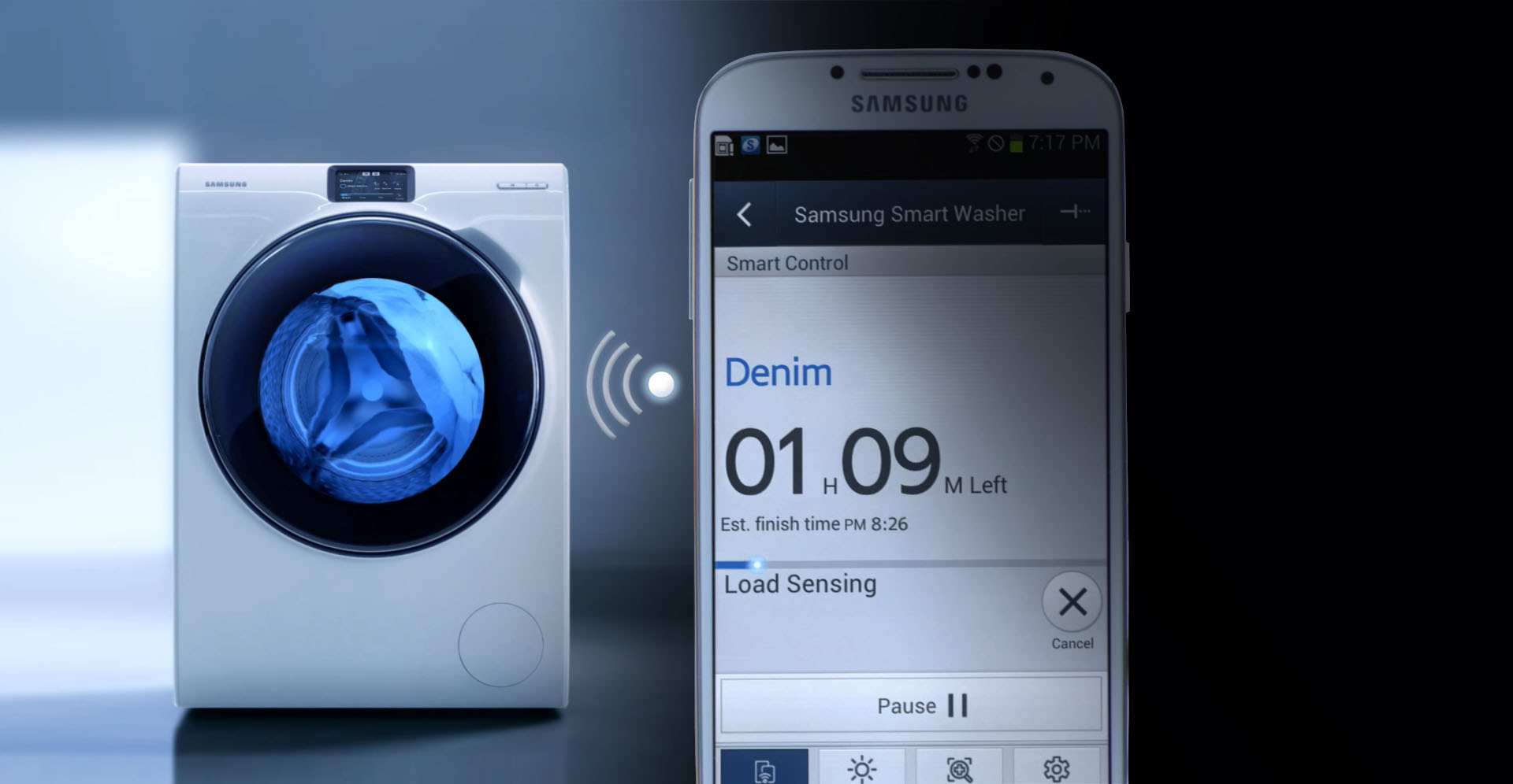 Connect To Your Laundry With The Samsung Wi Fi Laundry