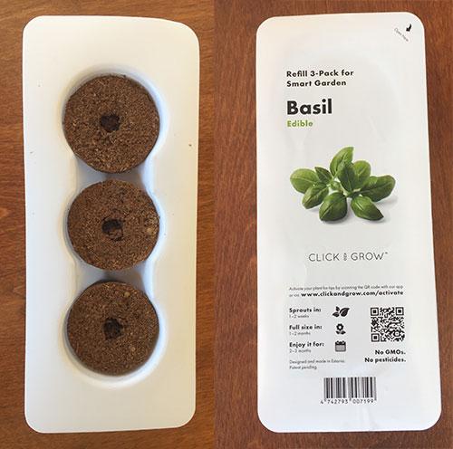 Smart Garden Basil Capsules