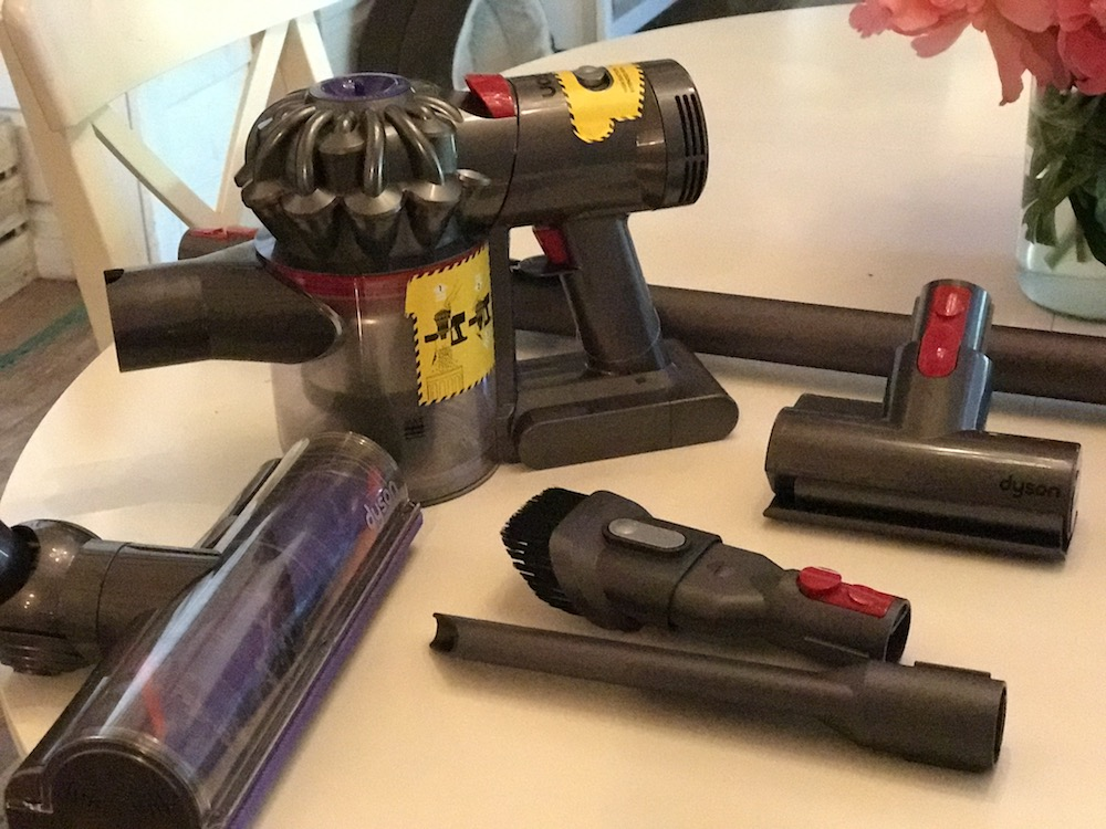 Dyson new vacuum cleaner attachments