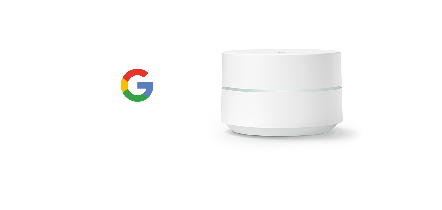 Router replacement single Wifi point Google Wifi system