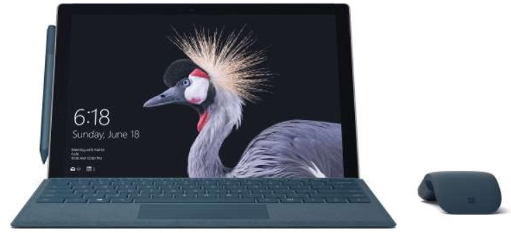 New Microsoft Surface Pro 2017