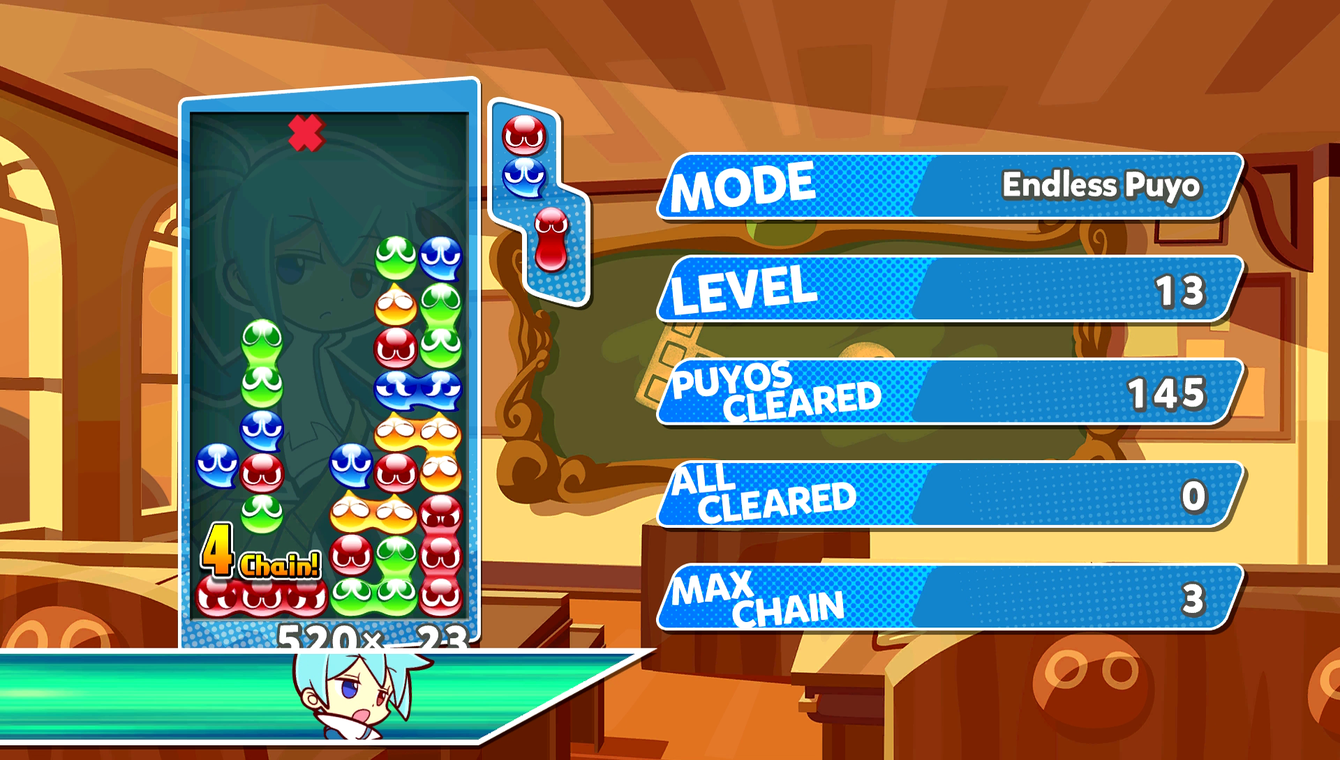 Puyo Puyo Tetris single player