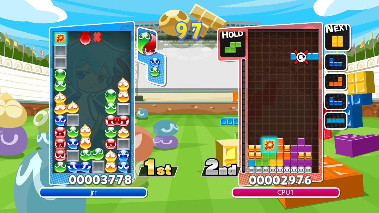 Puyo Puyo Tetris multiplayer