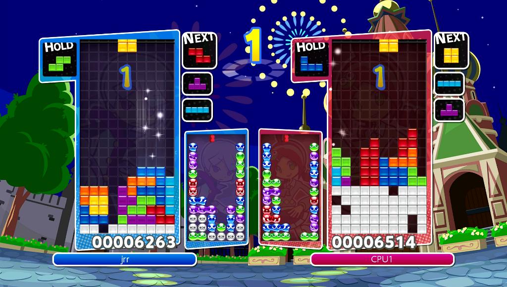 Puyo Puyo Tetris Party mode