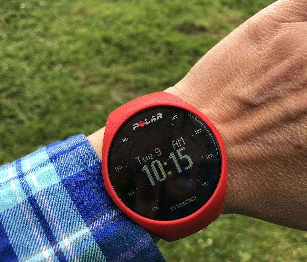 Polar M200 smartwatches for women