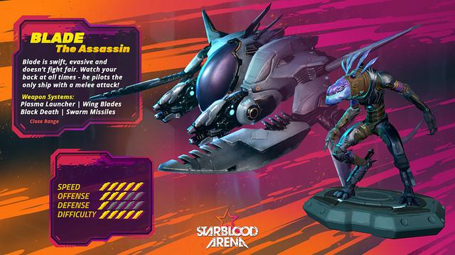 Starblood Arena pilot