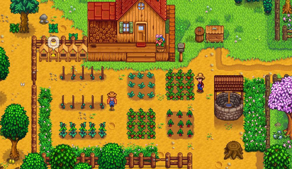 Stardew Valley farming life