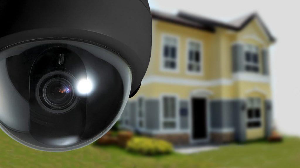 outdoor or indoor security camera