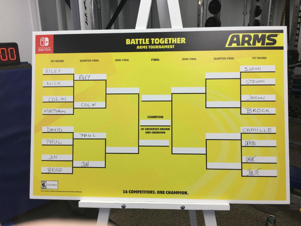 ARMS tournament