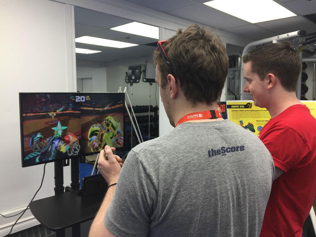 ARMS training Nintendo Switch