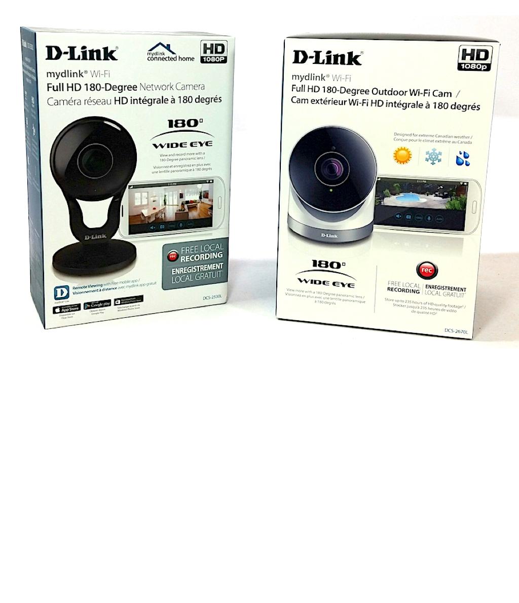 D-Link 180º Indoor and Outdoor HD Cameras Review [video] | Best Buy Blog