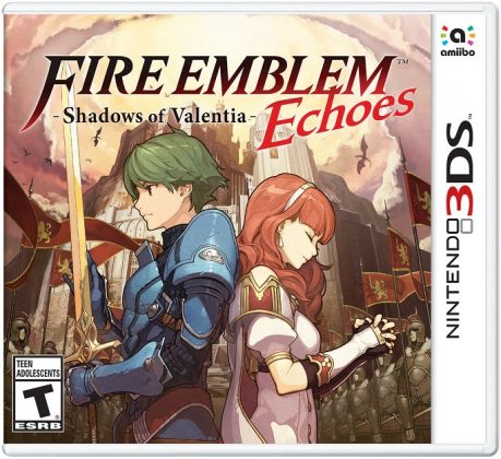 Fire Emblem Echoes box art