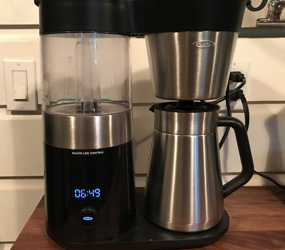 Oxo Coffee Maker Reviews : OXO Barista Brain Coffee Maker Review Best Buy Blog