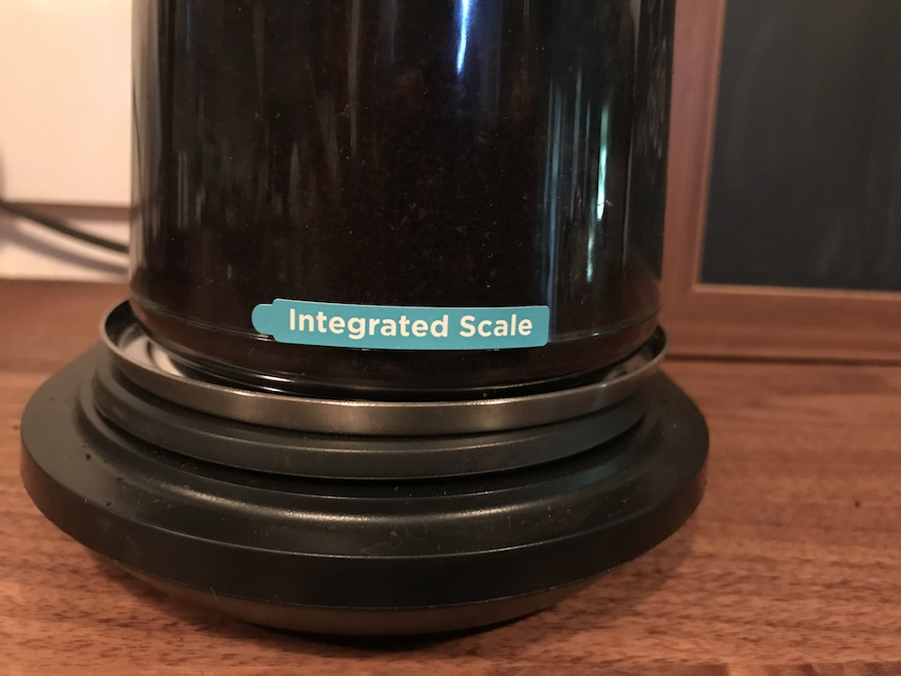 OXO Conical Burr Grinder Integrated Scale