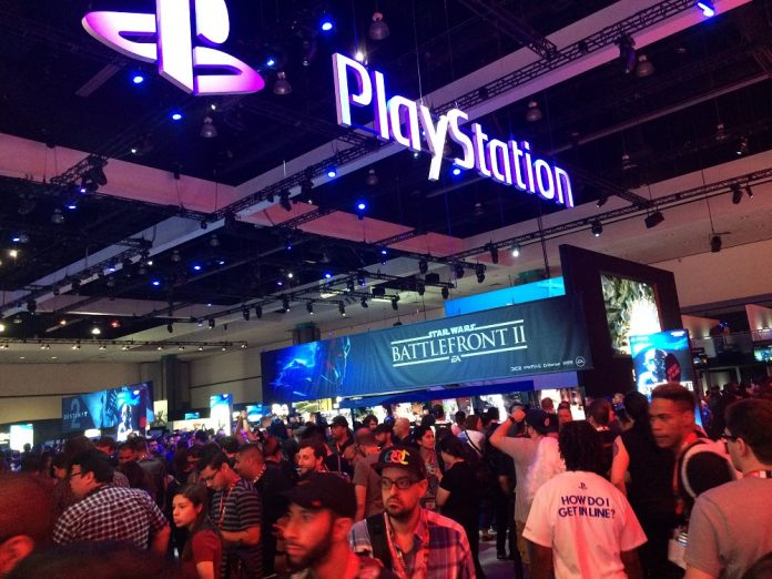 PlayStation booth E3