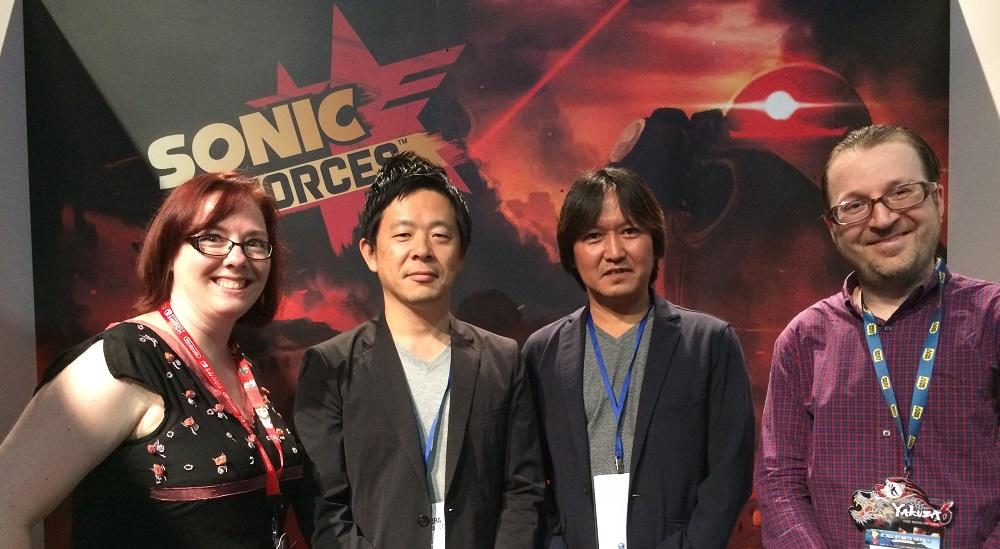 Sonice Forces Creators