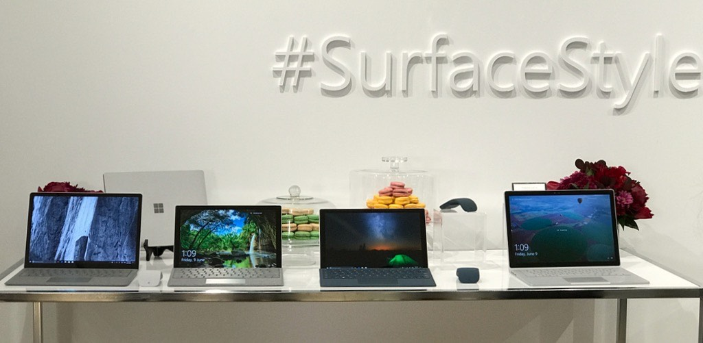 Surface Laptop size