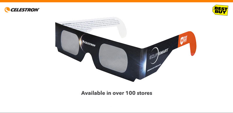 view the total solar eclipse with celestron eclipsmart glasses ...