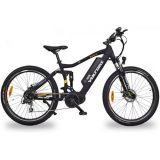 voltbike enduro full suspension mid drive electric bike