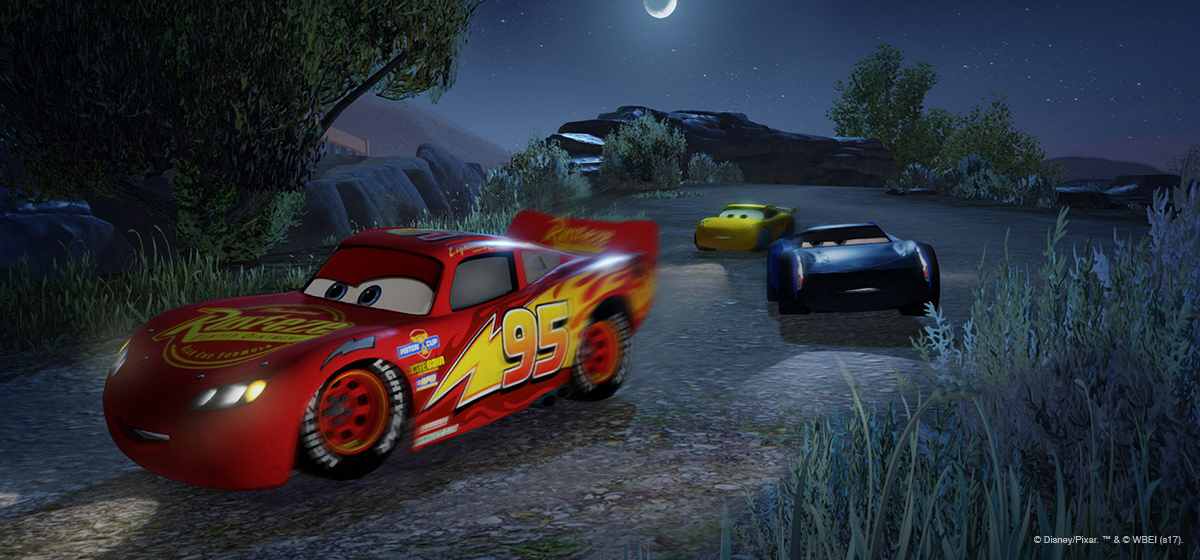 Cars 3 Driven to Win racing