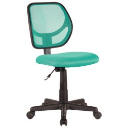 Colourful dorm room chair