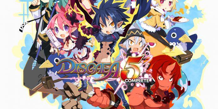 Disgaea 5 Complete logo