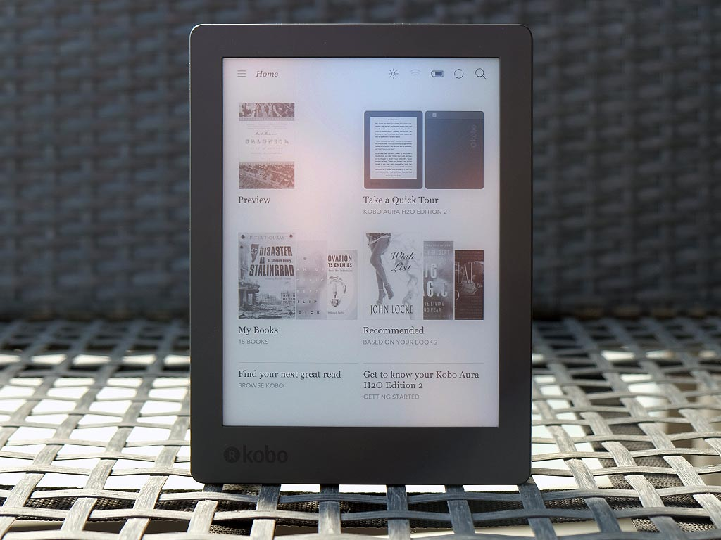 Kobo aura h2o edition 2 review best buy blog for Housse kobo aura h2o edition 2