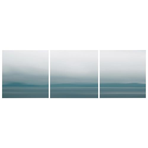 Nexxt Shutter Blue Blur Canvas