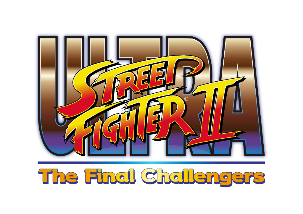 Ultra Street Fighter II Switch logo