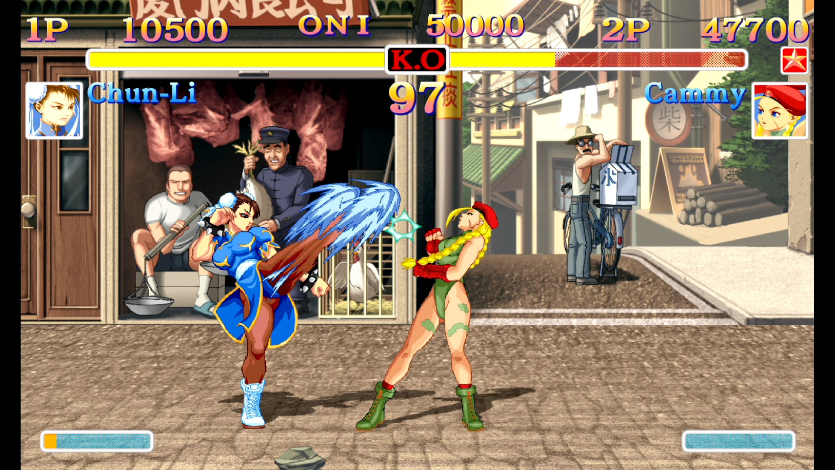 Ultra Street Fighter II Chun-Li Cammy