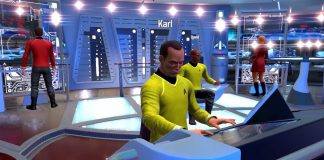 Star Trek Bridge Crew captain