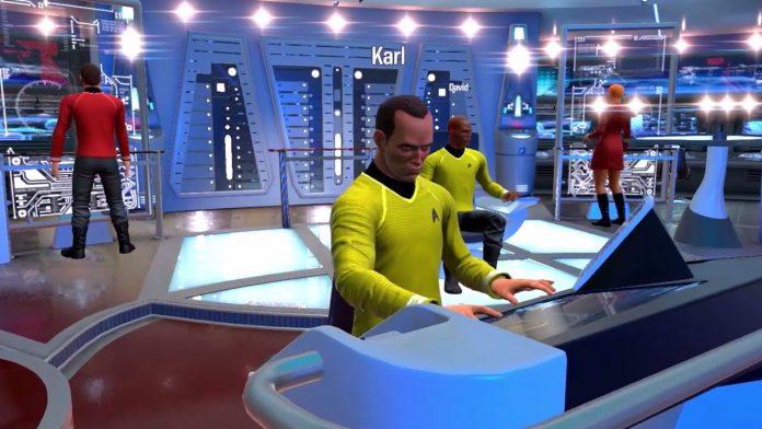 Star Trek Bridge Crew captain