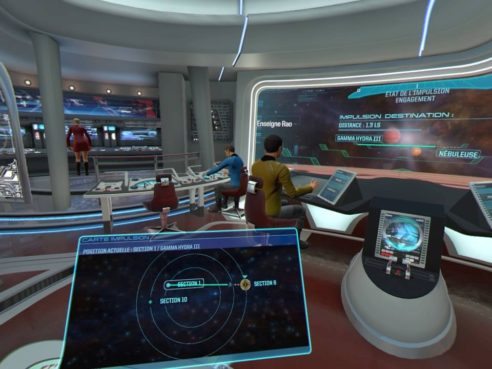 Star Trek Bridge Crew local space