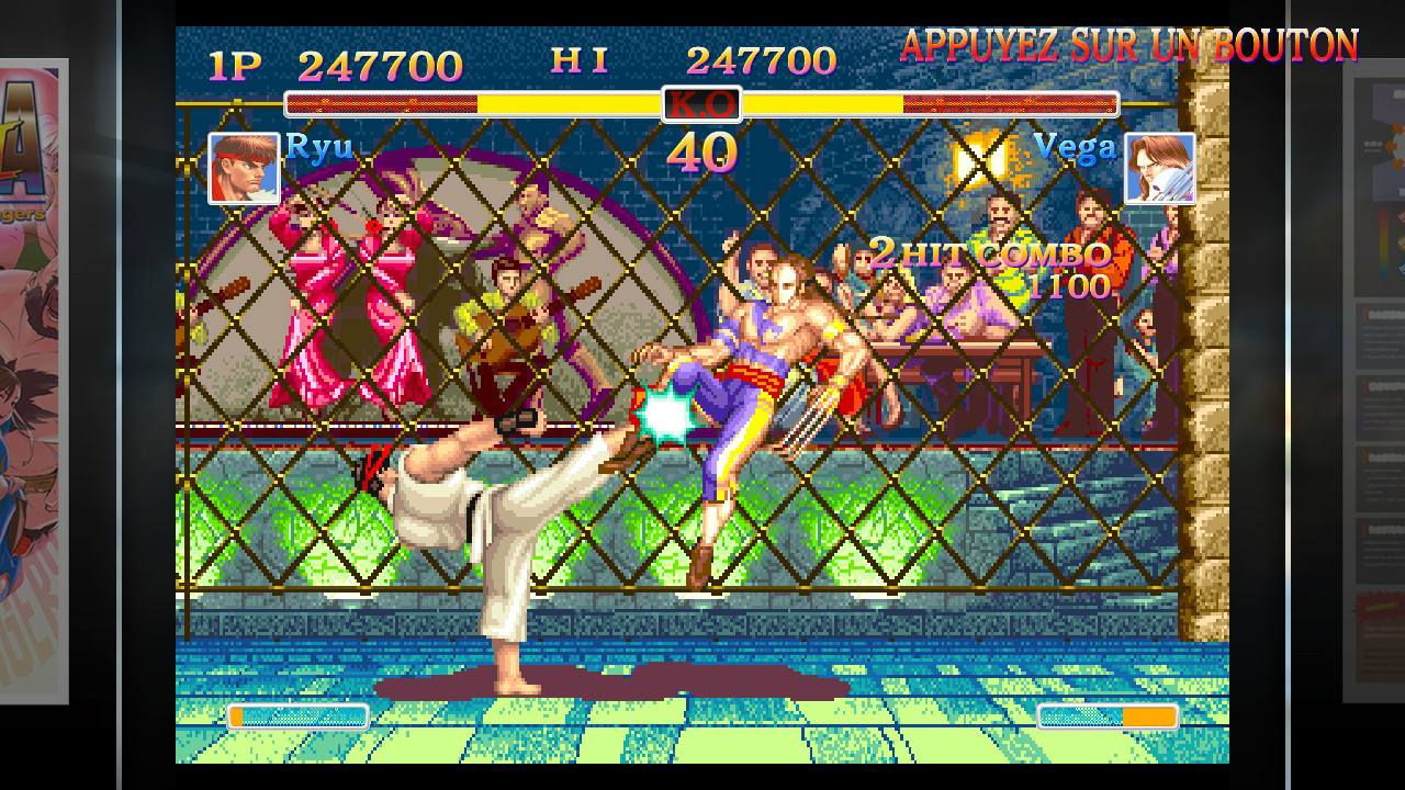 Ultra Street Fighter II Ryu Vega