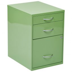 Colourful filing cabinet
