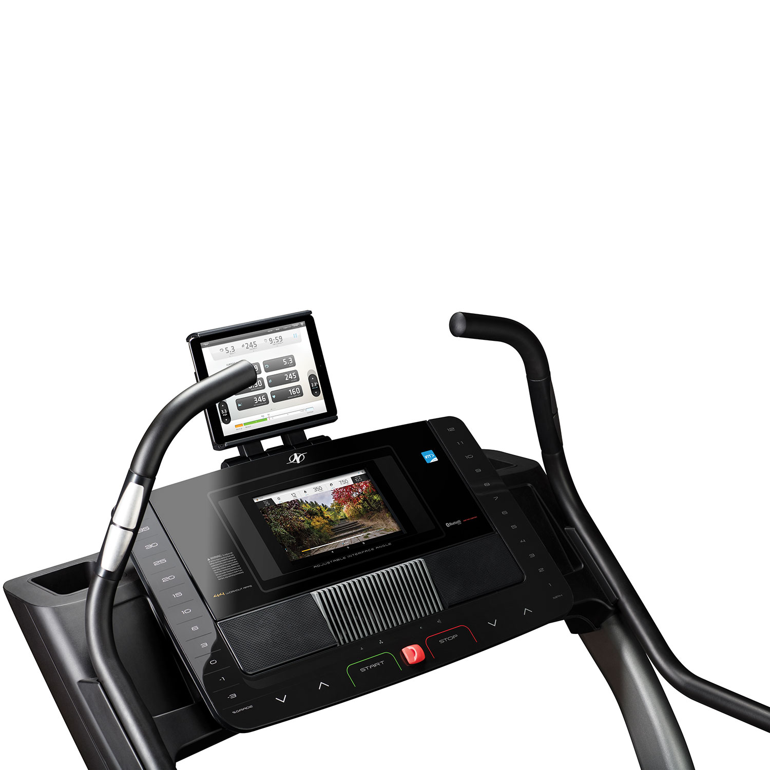 tablet holder treadmill