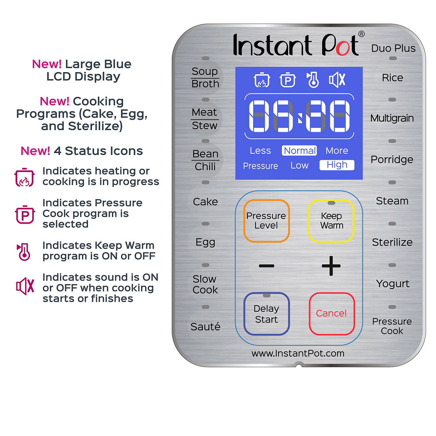 Instant Pot LCD
